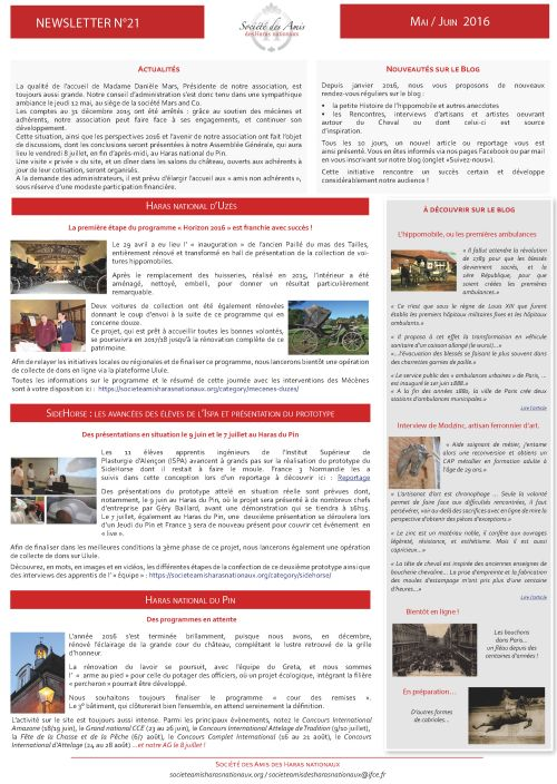 newsletter21-mai-juin-2016